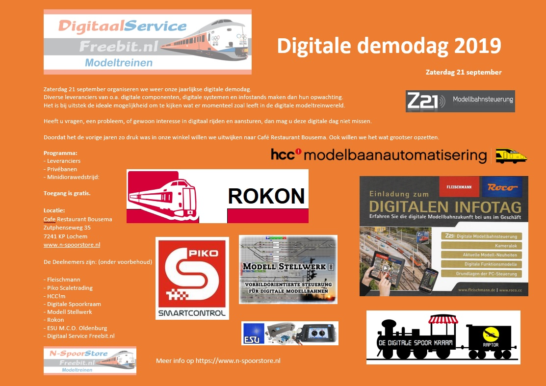 Digitale demodag 2019